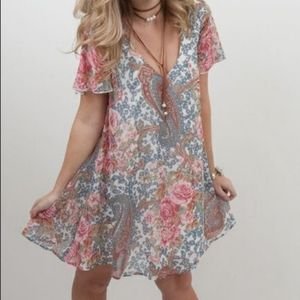 Show me your Mumu Kylie Grey Gardens Mini Dress